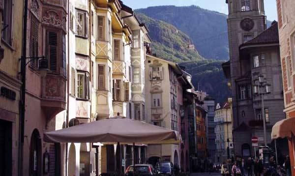 Улицы в Больцано
