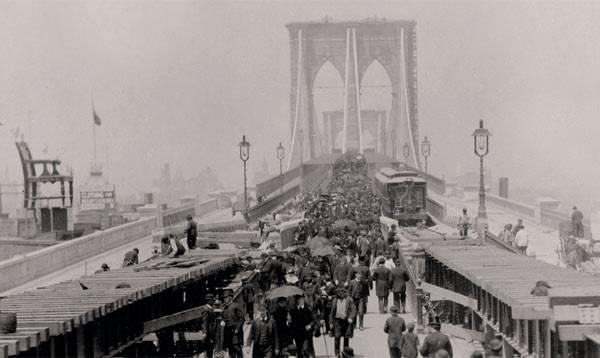 Открытие Бруклинского моста