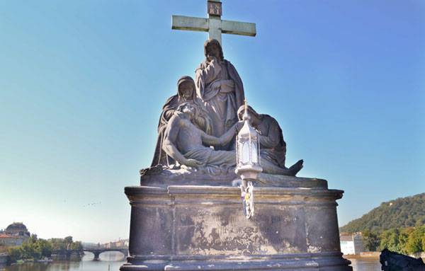 Пьета, скульптура Карлова моста