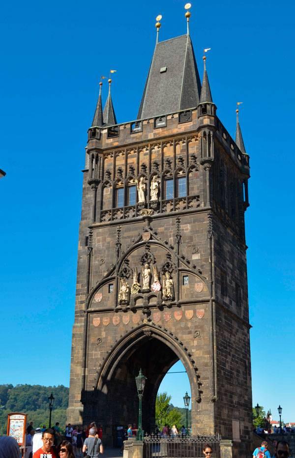 Староместская башня на Карловом мосту