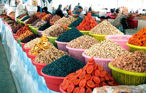 Сиабский базар в Самарканде