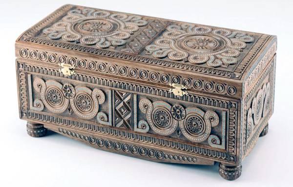 Самаркандская шкатулка