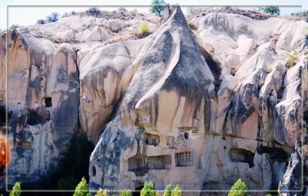 Музей под открытым небом в Каппадокии