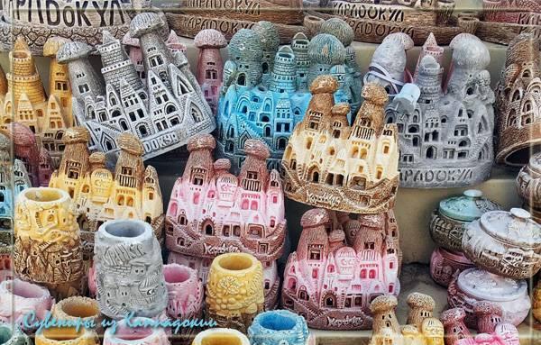 Сувениры из Каппадокии