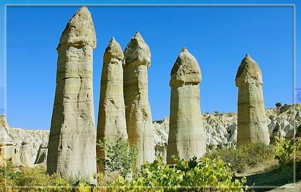 Долина любви в Каппадокии