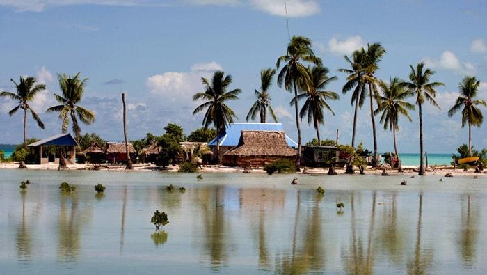 Деревня на Кирибати