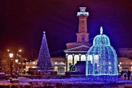 Как провести Новый год в Костроме 2019 с программой недорого