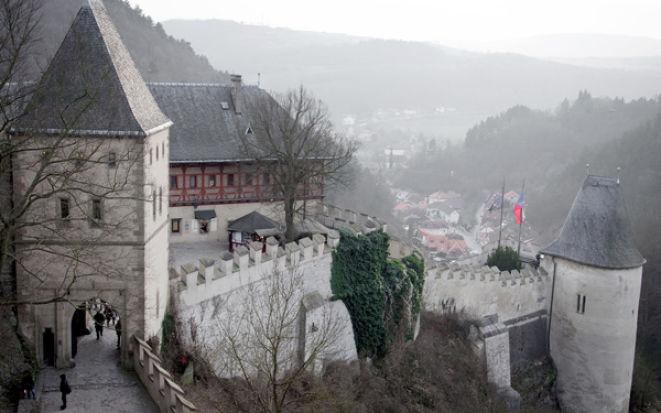 История замка Карлштейн в Чехии