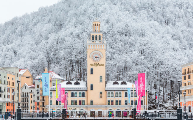 Новый 2019 год в Роза Хутор: отели с программой, цены на отдых