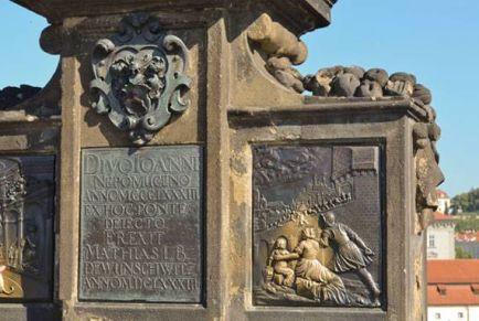 Статуи Карлова моста в Праге
