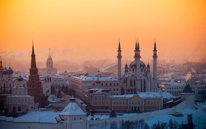 Достопримечательности Казани зимой