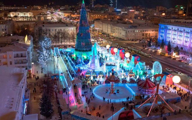Куда сходить в Екатеринбурге на новогодние каникулы в 2019 году