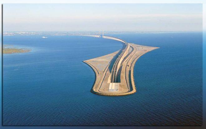 Эресуннский тоннель – мегасооружение конца XX века