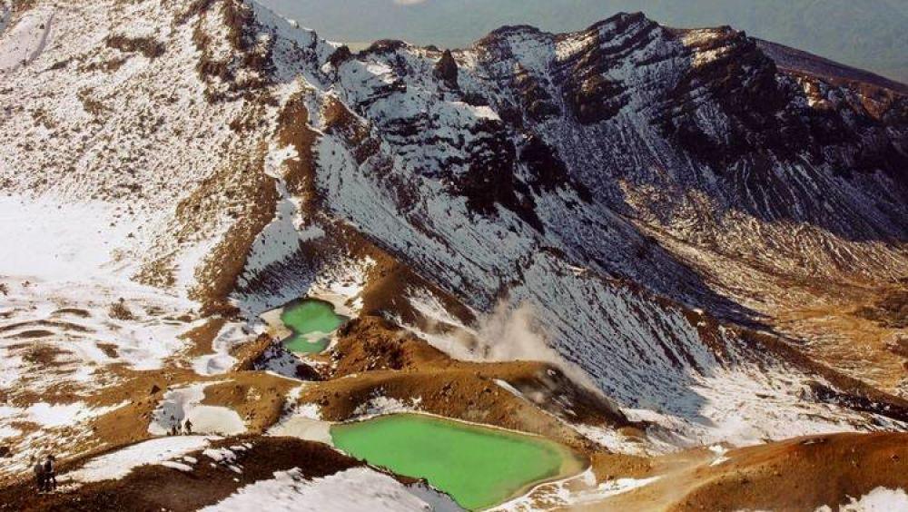 """""""Дымящиеся горы"""" в национальном парке Тонгариро"""
