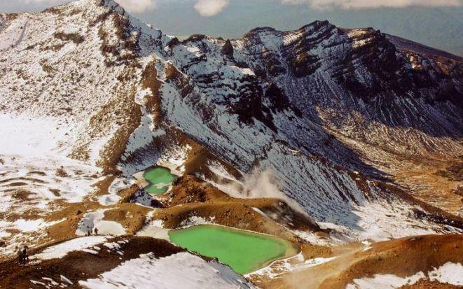 «Дымящиеся горы» в национальном парке Тонгариро