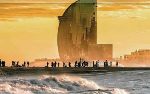Барселона: ласковое море и уютные пляжи