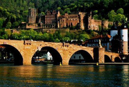 Гейдельберг: город-замок на реке Неккар