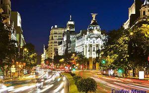 Мадрид: город под горячим испанским солнцем