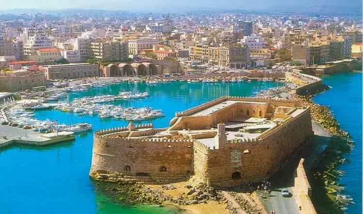Морская крепость на Крите