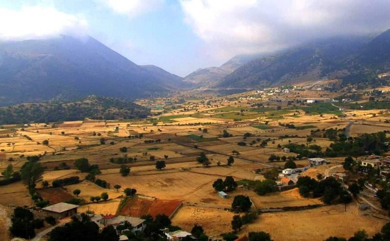 Панорама острова Крит