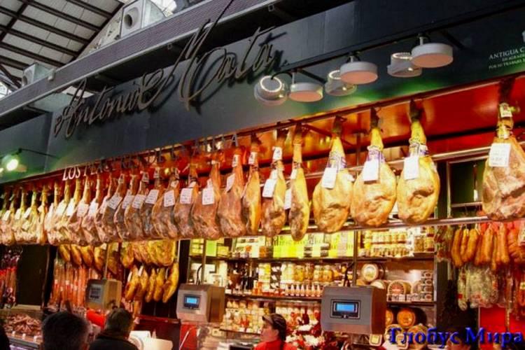 Городской рынок Валенсии