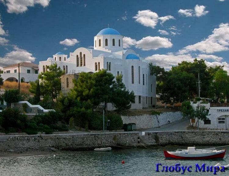 Остров Спеце Греция