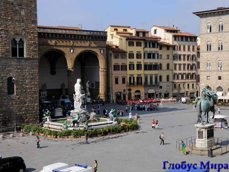 Площадь Сеньорины во Флоренции
