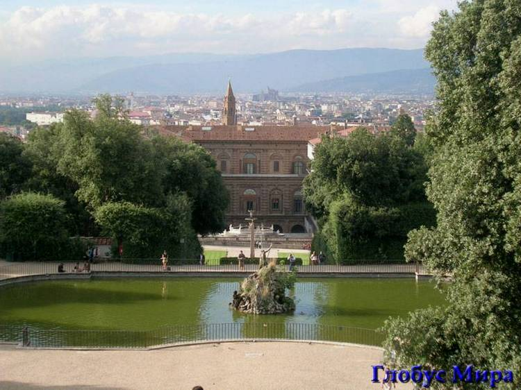Сад Боболи во Флоренции