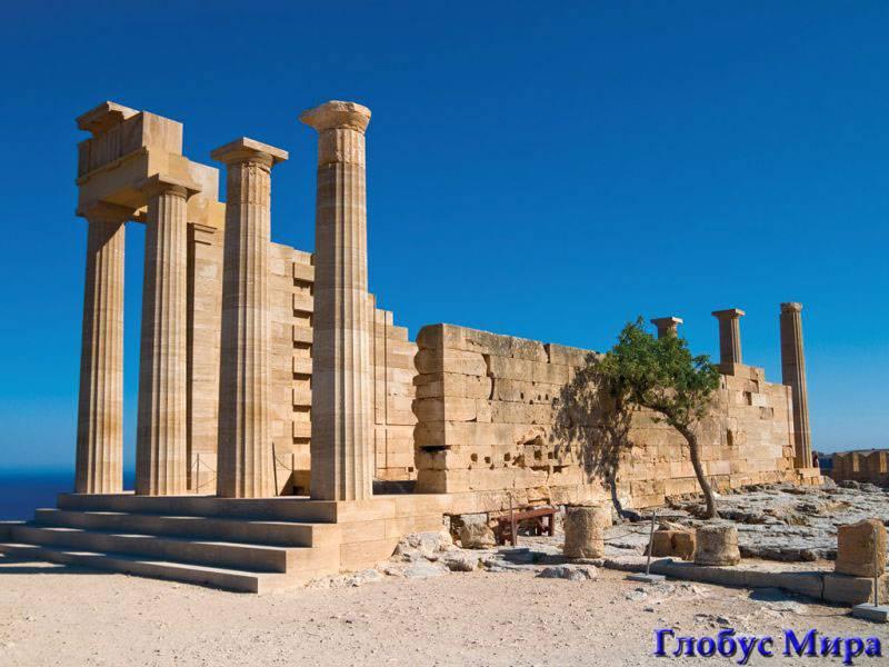 Развалины Акрополя