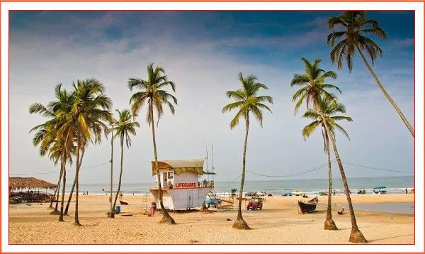 Южный пляж Гоа