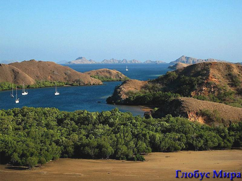 Море и острова Банда