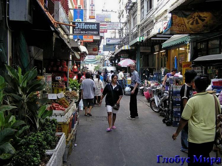 Уличный рынок в Чайна-таун