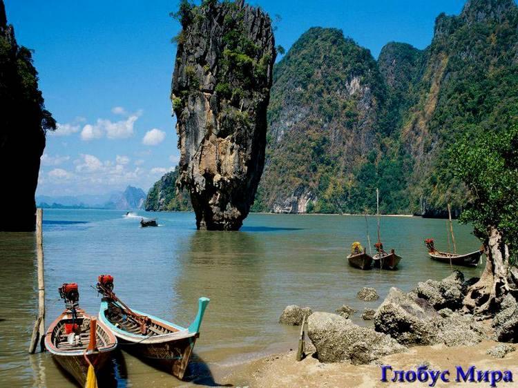 Достопримечательности: Знаменитая бухта Пханг Нга