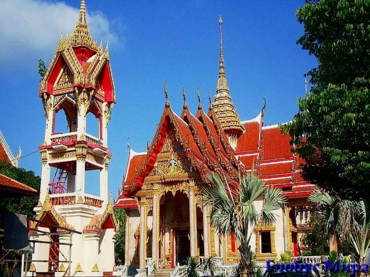 Буддийский храм Wat Chalong
