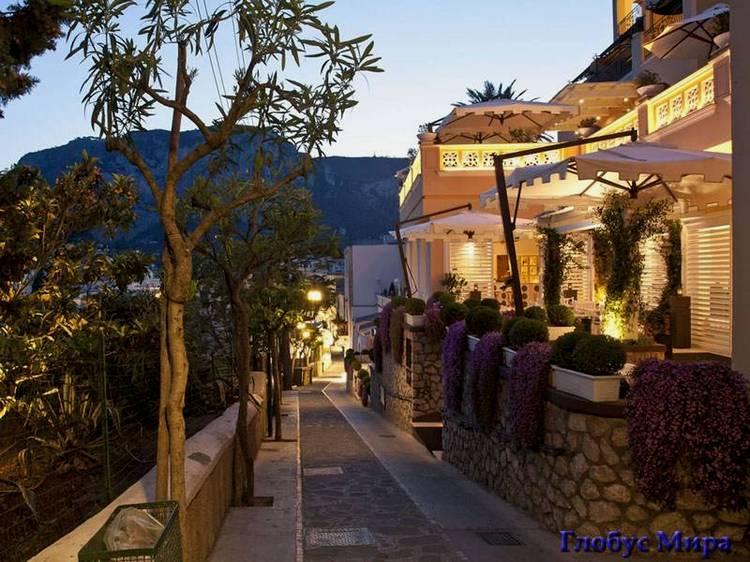Благодатная Италия: капринская городская улочка