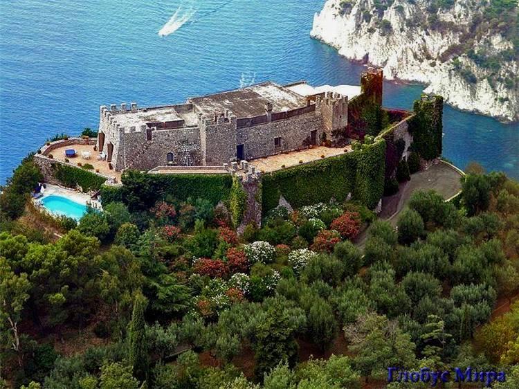 Благодатная Италия: Вилла Тиберия