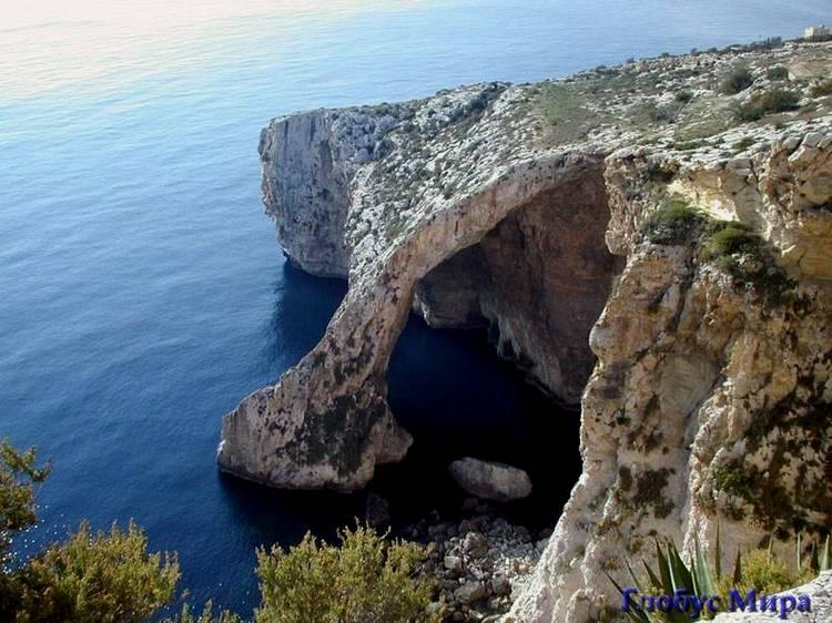 Благодатная Италия: Ворота Голубой бухты
