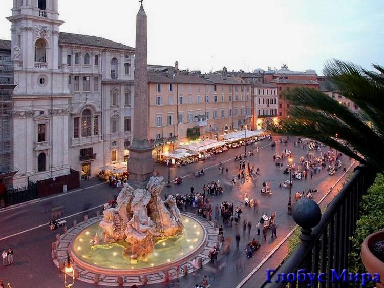 Площадь Навона (Италия)