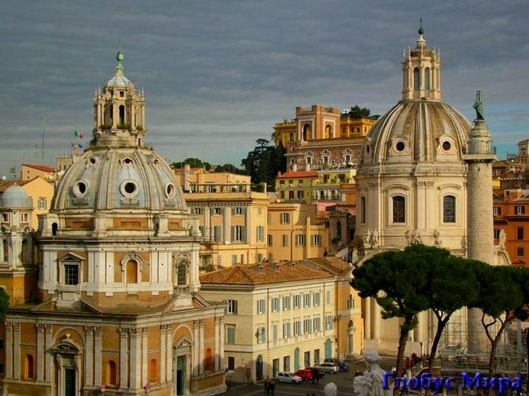Достопримечательности на фото: римская архитектура