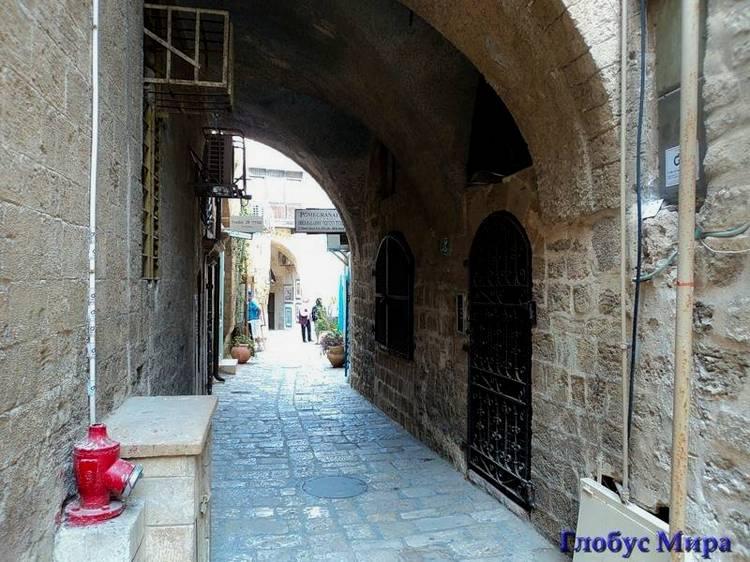 По знаменитым местам: улочки Яффо