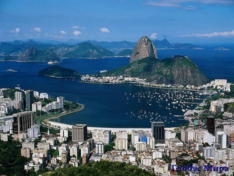 Достопримечательности Бразилии, вид на город