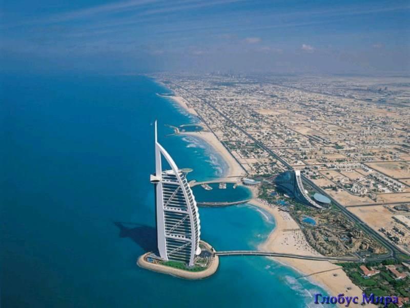 Отель-парус в Дубае