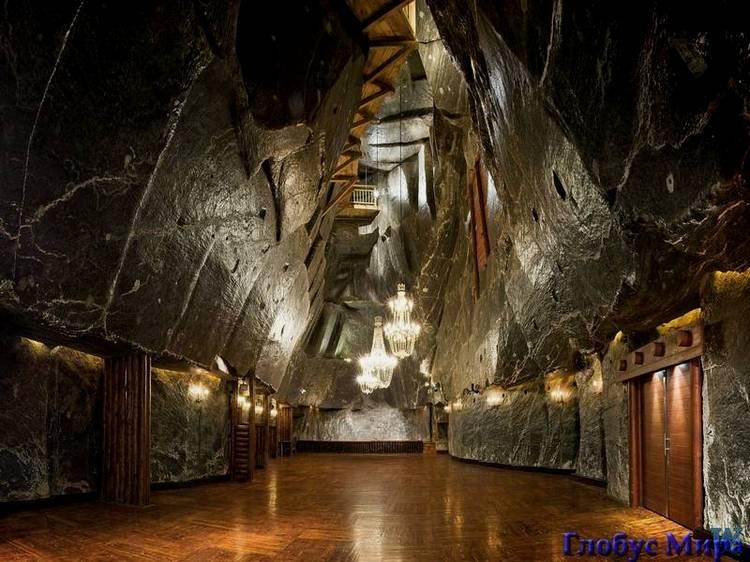 Краков: Величка. Соляные пещеры
