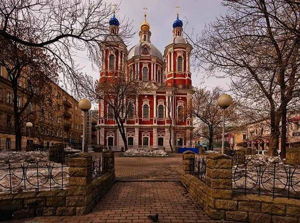 Достопримечательности Москвы: храм Климента
