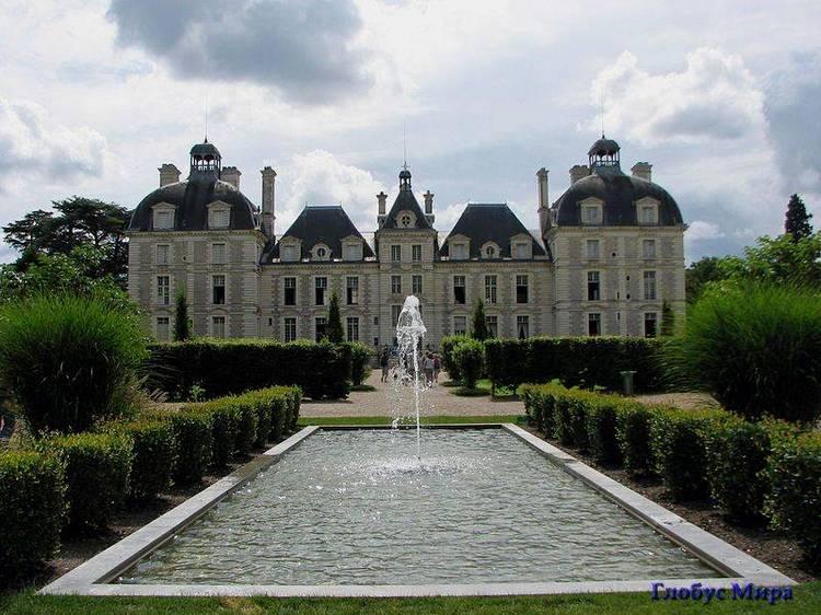 Старинные замки: замок Шеверни (Франция)