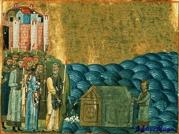 Священномученик Климентий. Миниатюра