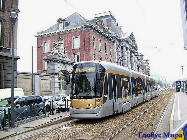 Брюссельский трамвайчик