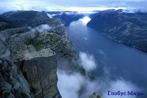 Фьорды, достопримечательности, фото (Норвегия)