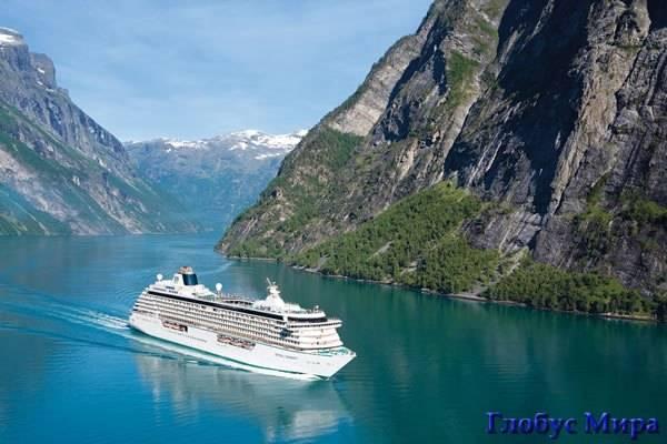 Норвегия. Фото фьордов