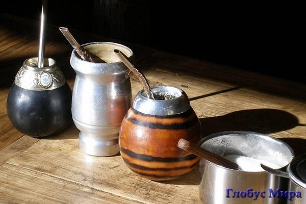 Приспособление для чая мате